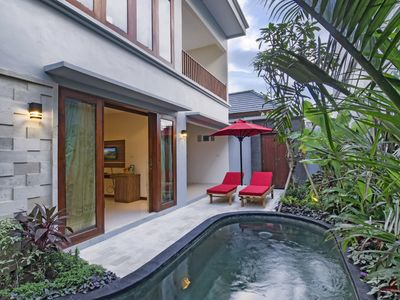 Photo for Two Bedrooms Family Villa Near Seminyak