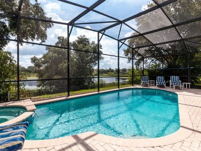 Photo for Games Room and Spa with a Lake View Very Close to Disney
