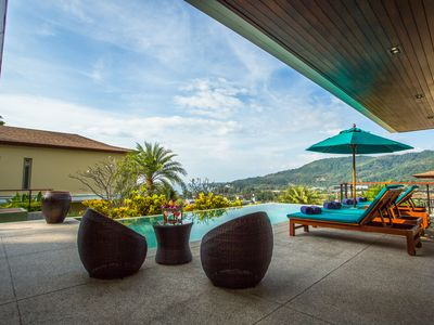 Photo for A luxury collection of pool villas in Phuket with panoramic ocean views.
