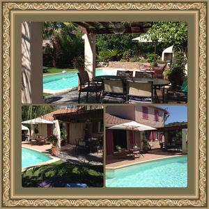 Photo for VILLA 4 BEDROOMS WITH HEATED PRIVATE POOL WITHOUT OPPOSITE AND CLOSED GARDEN