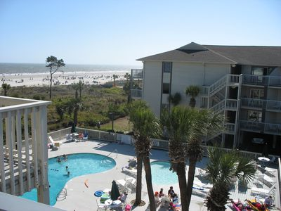 Photo for Oceanfront Condo on the Beach Walk to Everything!😊 Heated Pool Year Round