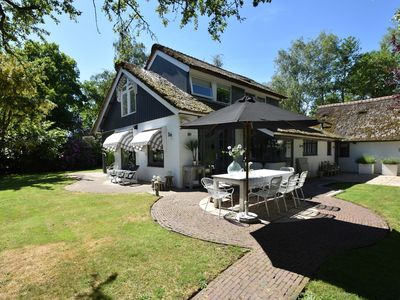 Photo for Luxurious villa with outdoor kitchen, at the edge of the Bergerbos in Bergen