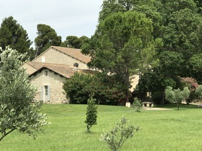 Photo for Provençal Mas of the XVIII in the heart of a olive-growing domain