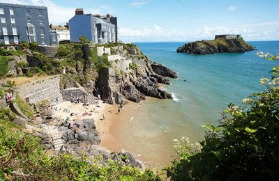 Photo for This elegant Grade II listed house is in a quiet street in beautiful Tenby