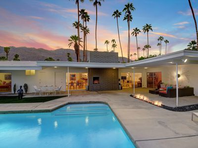 Photo for Vintage MidCentury Palm Springs Pool Home in Popular Deepwell Neighborhood - Pas
