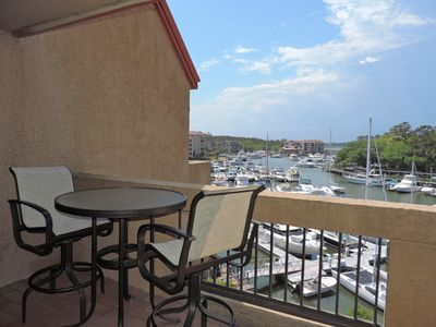 Photo for Waterfront views in the heart of bustling Shelter Cove Harbour