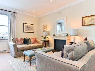 Photo for Luxurious 2-bed flat in upmarket Kensington