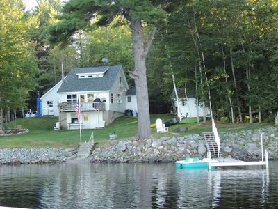 Photo for Charming,lakefront cottage on beautiful Chemo Pond Near Acadia and Bar Harbor,ME