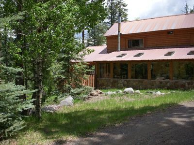 Photo for Mountain Serenity - Log Cabin Get A Way Upper Blanco Basin