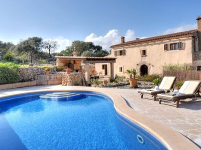 Photo for Roig de na Llatzer within Es Carritxo and Cala Dor with private pool for 8 perso