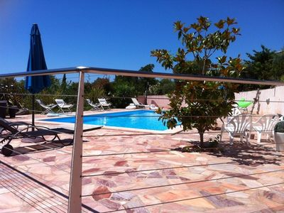 Photo for Villa sea view and pool A180 ° (150 m from the beach) for 12 / 14pers