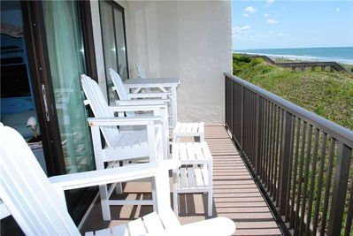Oceanfront Balcony - Second Floor