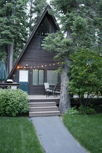 Photo for Renovated Classic Cabin in Tahoe Park