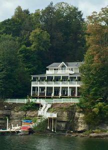 Photo for Amazing Lakefront home on Cayuga Lake right on the Cayuga Wine trail.