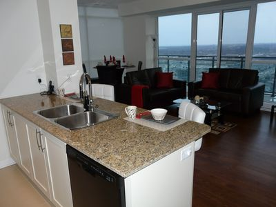 Photo for 2 Bedroom  2 Bathroom Fully Furnished Trendy Condo Near Square One With Un