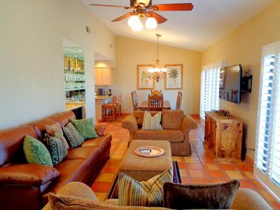 Photo for January Special! Beautiful 2 Bd/2.5 Ba Tennis Villa steps from La Quinta Resort