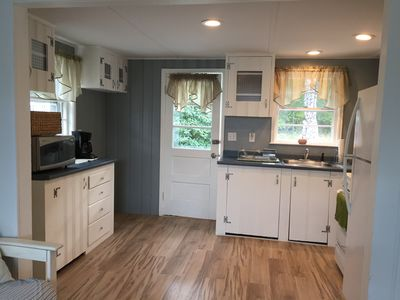 Photo for Marshfield single family steps to Rexhame beach. 2 bedroom 1 bath with parking.
