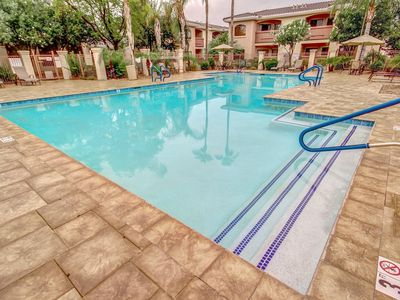 Photo for Remodeled! Resort Living- Gated , 2 BR- Heated Pool!! Desert Breeze Condo