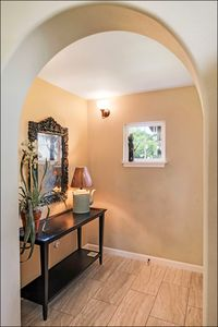 Charming entryway welcomes you!