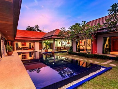 Photo for Frangipani Villa in Nai Harn - 5 bedroom private pool with garden and pizza oven