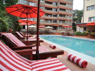 Photo for PrideInn Lantana furnished suites are located along East Church Road.