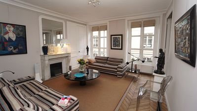 Photo for Big Luxury Charming Parisian Apartment Near Palais Royal / Louvre / Opéra