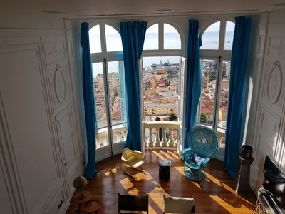 Photo for Luxury Riviera Palace - 180 ° Sea & Monaco view