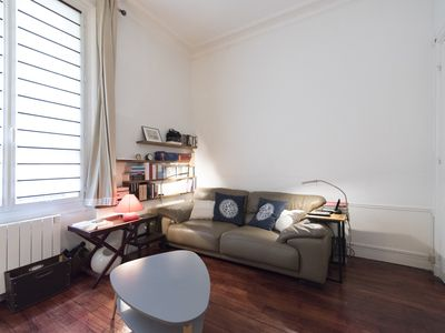 Photo for Classic Studio in Montmartre - One Bedroom Apartment, Sleeps 2