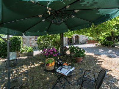 Photo for Charming Farmhouse with Garden, Private Terrace, Parking,BBQ