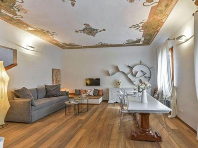 Photo for Nikita apartment in Santa Maria Novella with WiFi, integrated air conditioning & balcony.