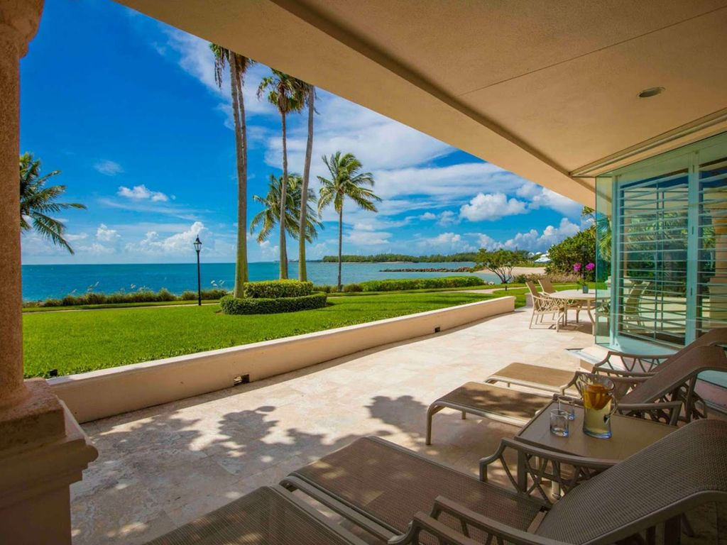 ASK FOR DISCOUTNS - Grandiose 3 Bedroom Ocean Front Villa on Fisher Island