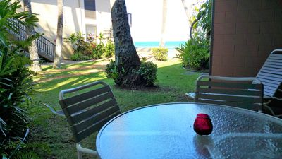 Photo for GREAT LOCATION IN WEST MAUI, OCEANFRONT PROPERTY, JUST STEPS FROM THE OCEAN!