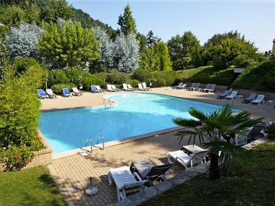 Photo for Living in an extraordinary vacation resort with approx. 8 hectares park and pool