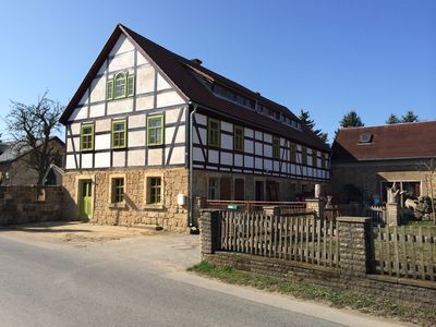 Photo for Apartment Parsifal in a historic half-timbered farm