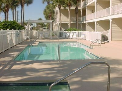 Photo for Ground floor! Private entry to  to pool! Stylish Decor! All the comforts of Home