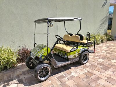 Free Golf Cart included with every week!