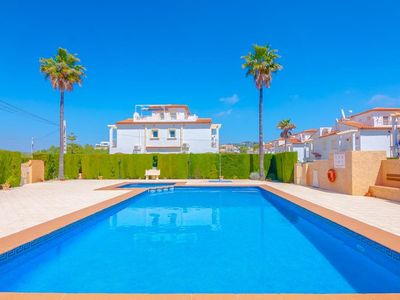 Photo for House 1.4 km from the center of Calp with Internet, Washing machine, Pool, Balcony (668111)