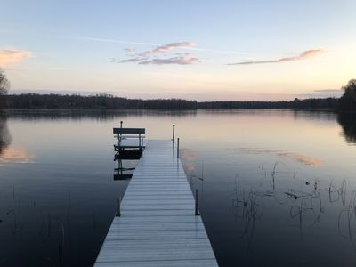 Photo for Peaceful and relaxing 3 bd, 2 ba cabin on a quiet lake