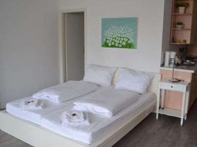 Photo for Our apartment no. 8 is situated in a quiet area on the side of the building and offers 45 m2 of space for 2-4 persons.