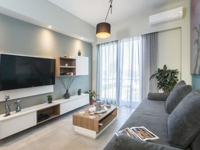 Photo for Mediterranean Luxury Apartment in the heart of Chania Town!