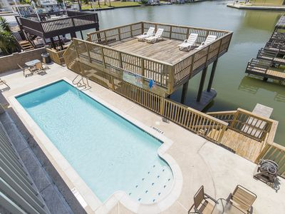 Boat Slip/Swimming Pool//Channel front Condo/Water Views