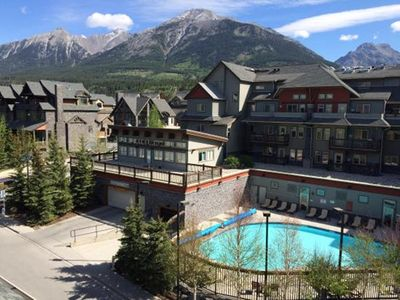 Photo for Lodges at Canmore – Hot Tub & Heated Swimming Pool, Private Laundry, Kitchen&BBQ