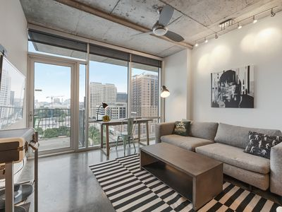 Photo for Kasa | Austin | Fascinating 1BD/1BA 2nd Street District Apartment