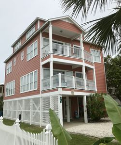 Photo for SLEEPS 11, 3 BR/ 4BA, Short Walk to BEACH & Lagoon, Pier,Pool; allows pet
