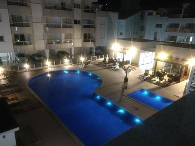 Photo for Beautiful Apt. 03 beds and 02 garages swimming pool WI-FI Praia Ingleses Florianópolis