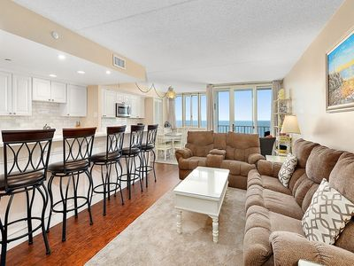 Photo for Newly Updated Oceanfront in N. Ocean City - Pool, Sauna, Game Room!