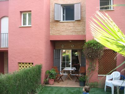 Photo for Golf Townhouse in Islantilla Golf Course, less than 1 km from the beach