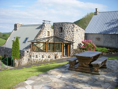 Photo for Auvergne Puy de Dome 3 comfortable cottages heated swimming pool from June to September