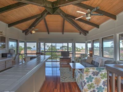 Photo for Family Friendly Princeville Home with 360 Ocean and Mountain Views!!