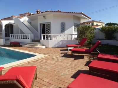 Photo for VILAMOURA VILLA 4 BEDROOMS, 4 BATHROOM, PRIVATE POOL, 3 KM FROM THE SEA, 1KM GOLF